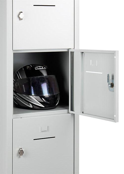 Lockerkast 5-deurs 190 x 41 x 45cm in 5 Kleur Combinaties 2