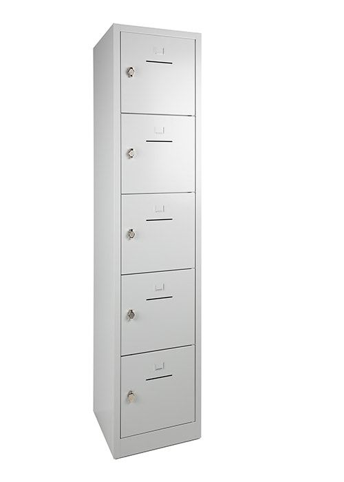 Lockerkast 5-deurs 190 x 41 x 45cm in 5 Kleur Combinaties 7