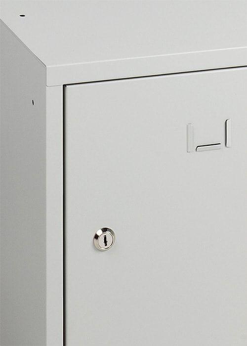 Lockerkast Stapelbaar 1 Deurs 38 x 38 x 38 in 3 1