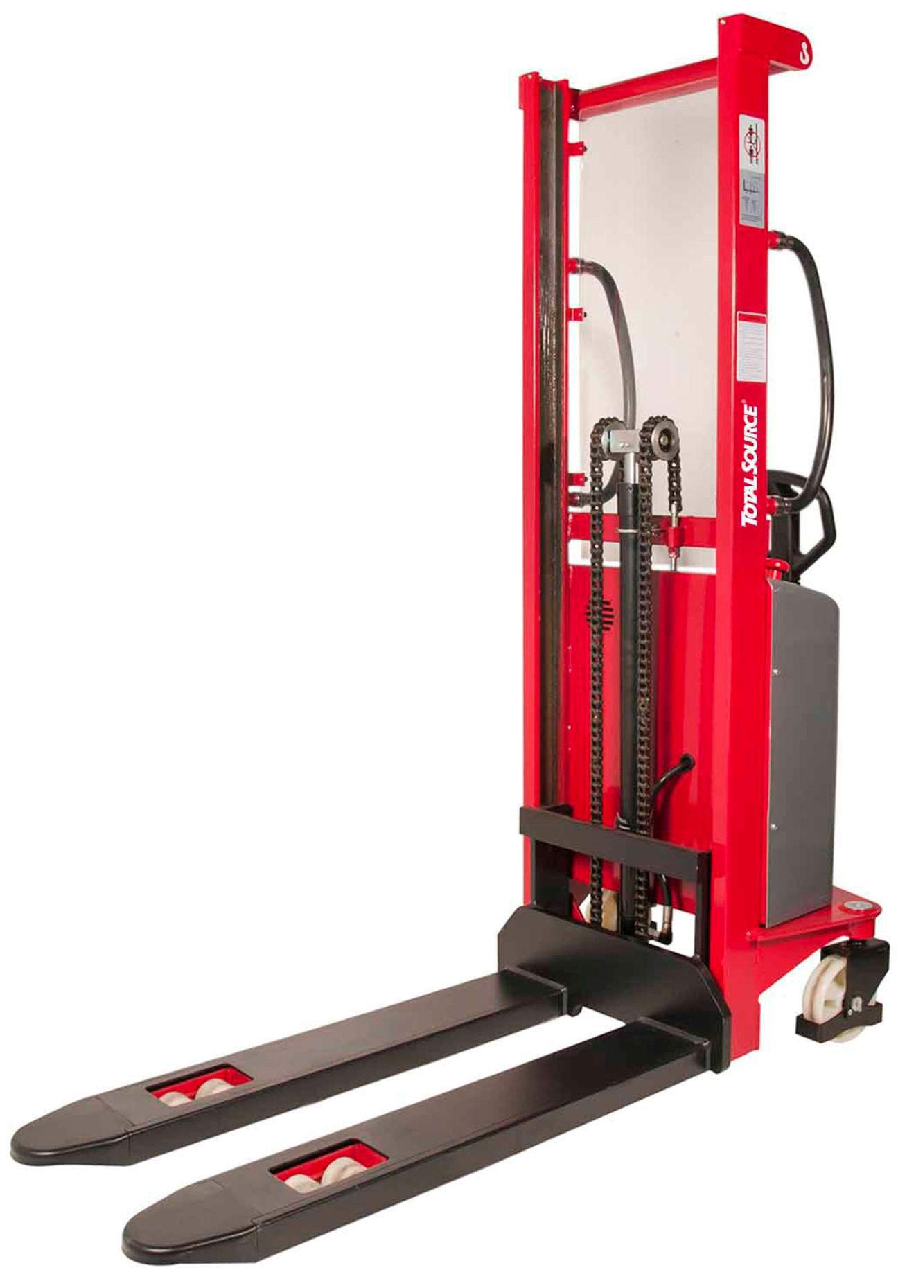 Semi Electrische Stapelaar 1600 mm 1000 kg
