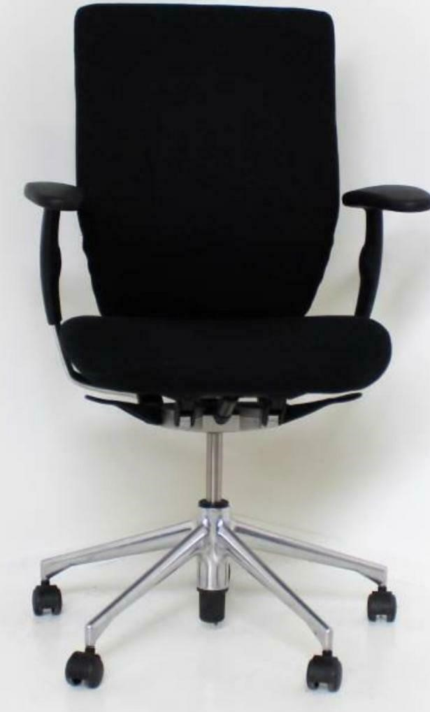 Vitra Oson C Bureaustoel Zwart Refurbished