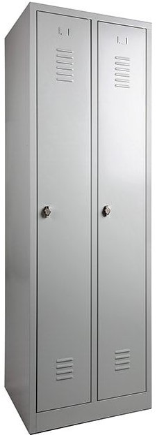 Garderobekast Lockerkast Kledingkast 2 Deurs Nieuw 3
