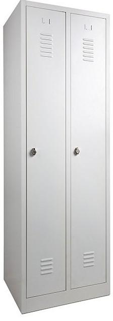 Garderobekast Lockerkast Kledingkast 2 Deurs Nieuw 9