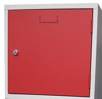 Lockerkast 1 Deurs 38 x 38 x 38 in 3 kleur combinaties n