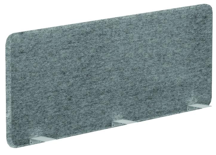 Bureau Wand Akoestische 53cm hoog, Polyester Leverbaar in 14 kleuren