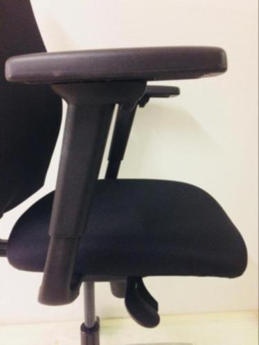 Bureaustoel Zwart Gebruikt 8