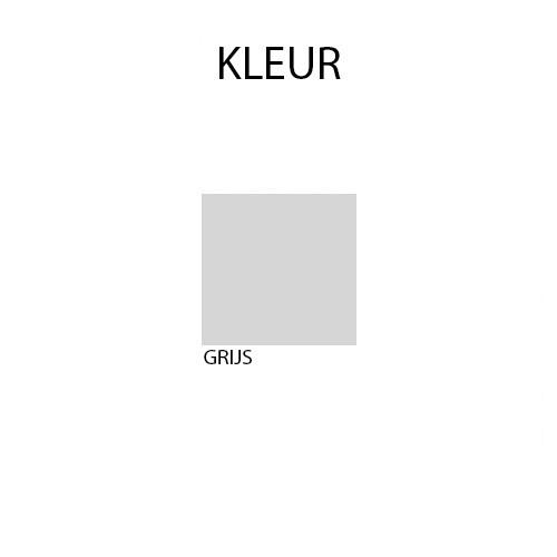 Lockerkast PEL 18-deurs 188 x 42 x 15cm Grijs kleur
