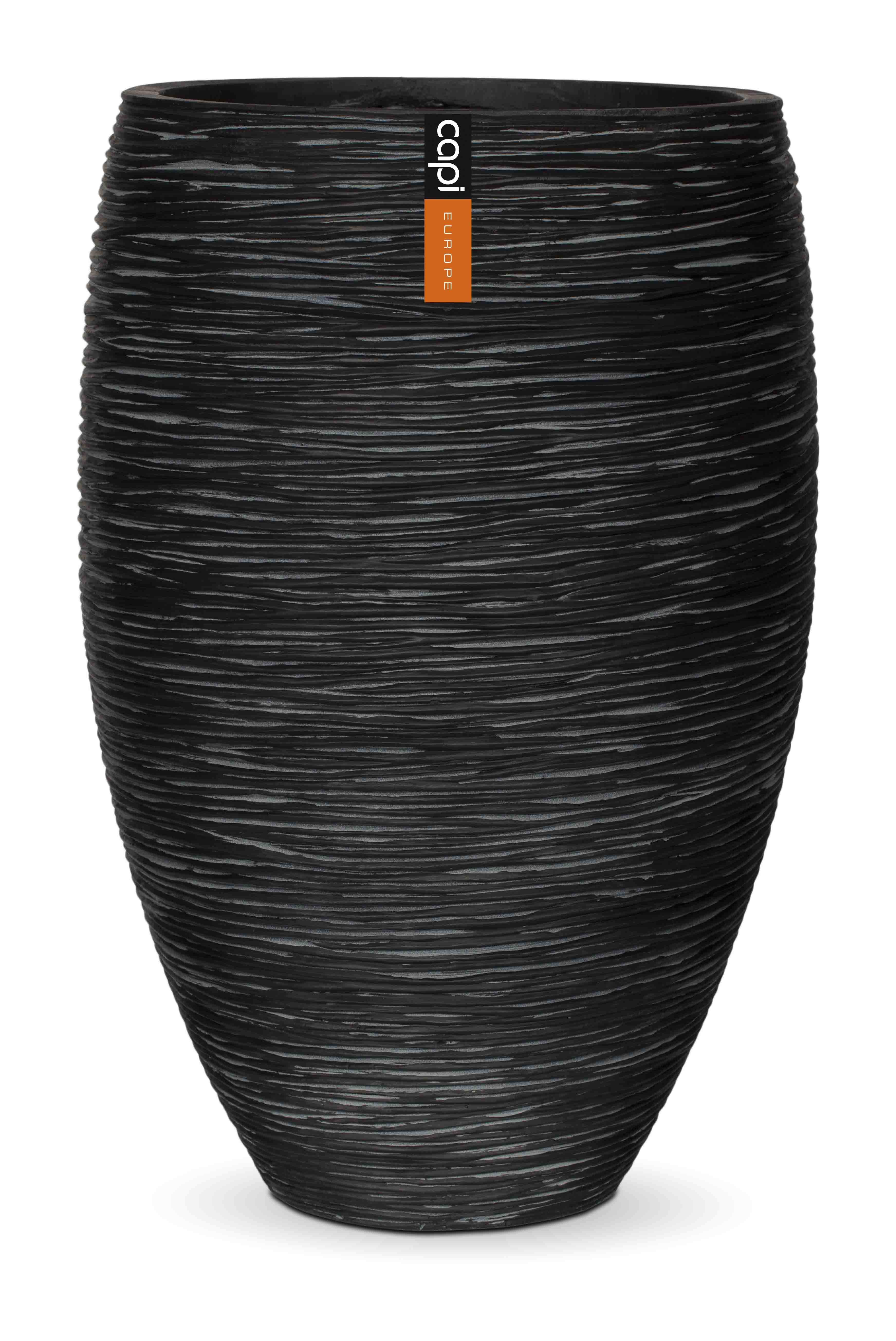 Capi Vaas Nature Zwart 39 x 60 cm