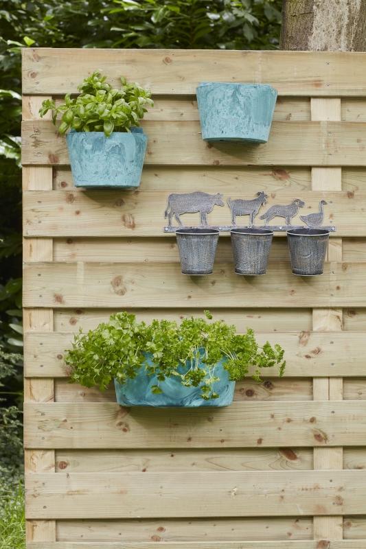 Artstone plantenbak voor balkon kopen online bij for Balkon bloembak