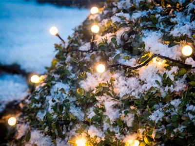 Buitenverlichting Kerst