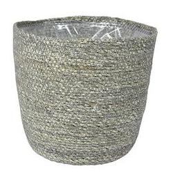 Bij Haxo kunt u terecht voor grijze bloempotten voor binnen en buiten