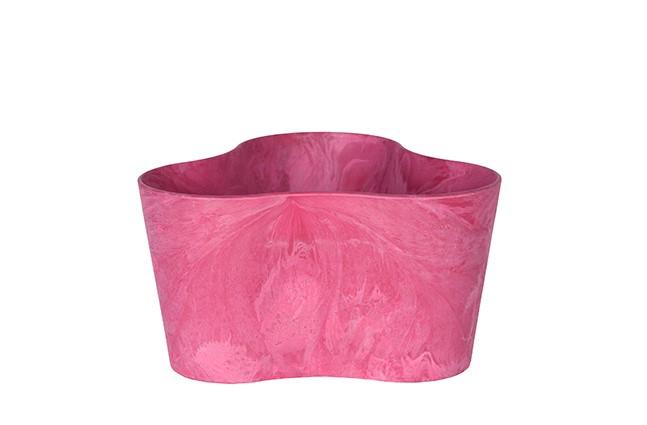 Bij Haxo.nl kunt u verschillende vormen roze bloempotten kopen.