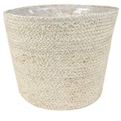 Bij Haxo kunt u terecht voor witte bloempotten van verschillende materialen