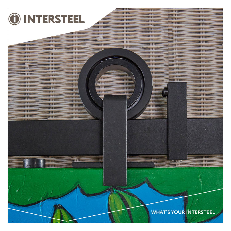 Intersteel Schuifdeursysteem Modern Top mat zwart