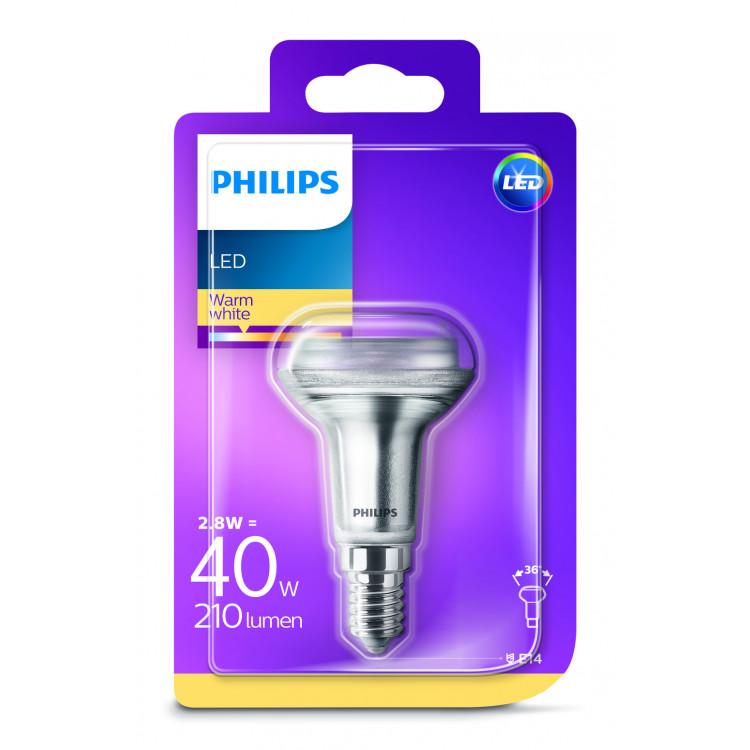 Philips LED Classic reflectorlamp R50 40W E14 warmwit