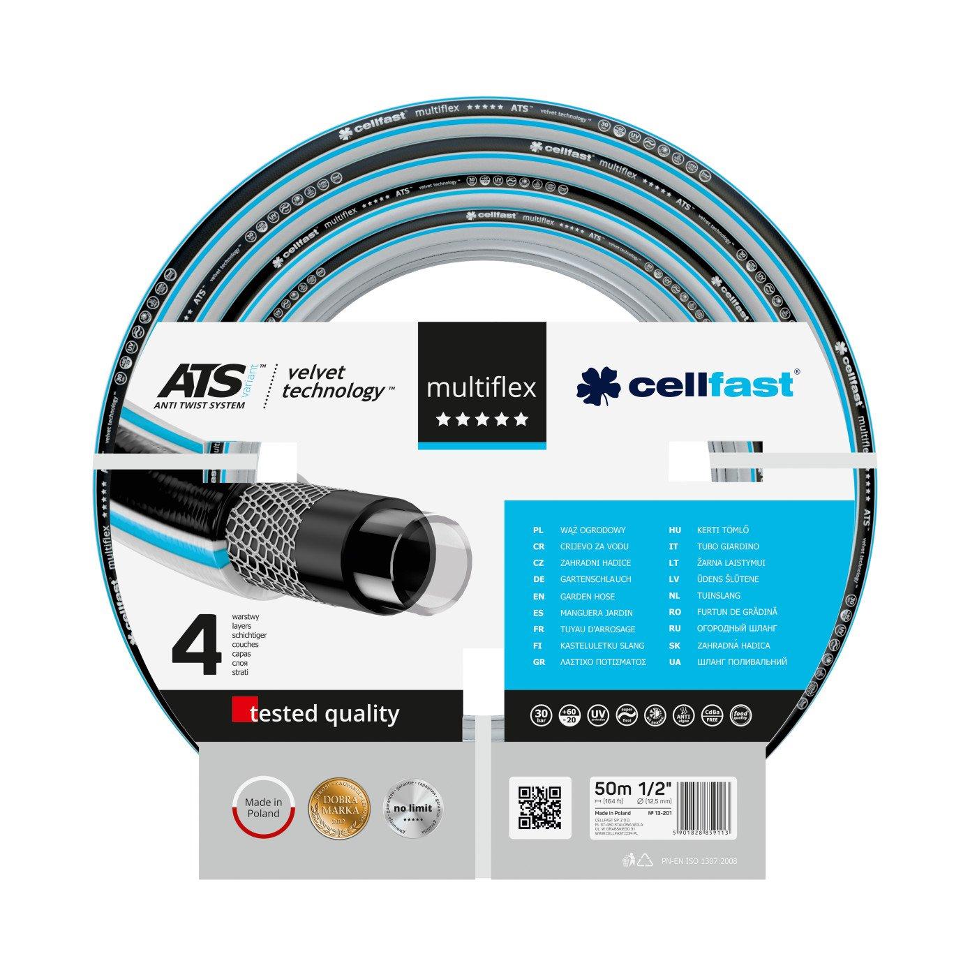 CELLFAST - TUINSLANG - MULTIFLEX ATS VARIANT™ VT - 1/2