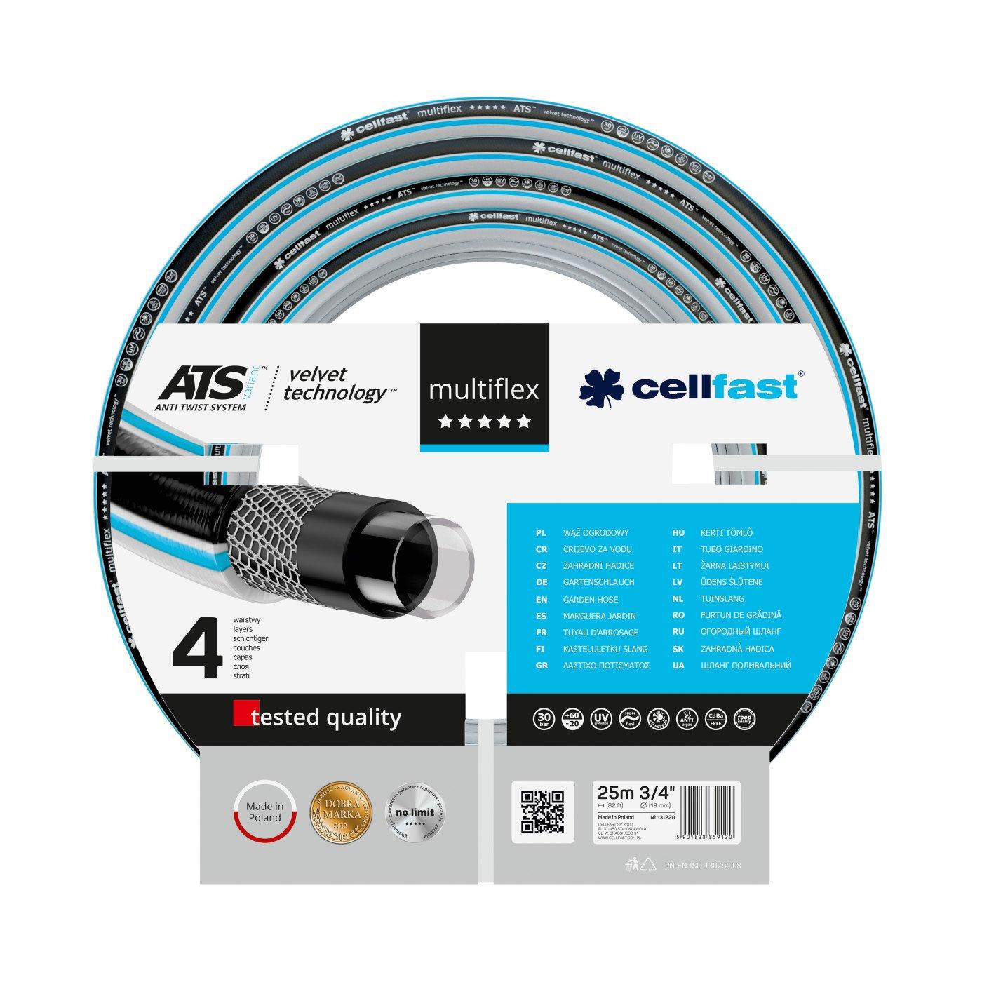 CELLFAST - TUINSLANG - MULTIFLEX ATS VARIANT™ VT - 3/4