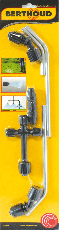 Berthoud Sproeiboom met 3 spuitkoppen