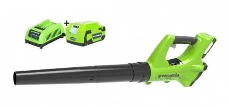 Greenworks Accu Bladblazerset G24ABK4
