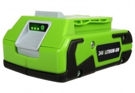 Greenworks 24 V accu - 2 Ah