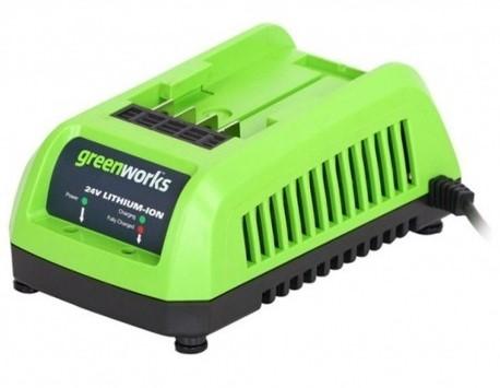 Greenworks 24 V acculader