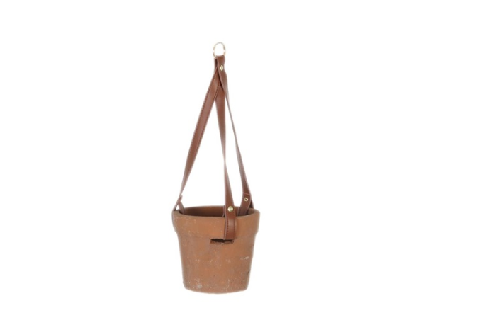 Dijk Natural Collections | Hangende Pot Terracotta Rood/Grijs