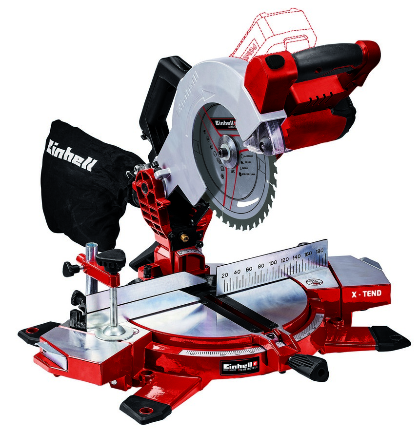 Einhell accu afkortzaag Power X Change