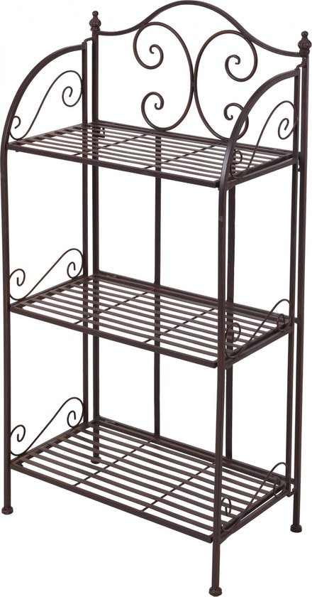 Plantenetagere Staal 3 levels