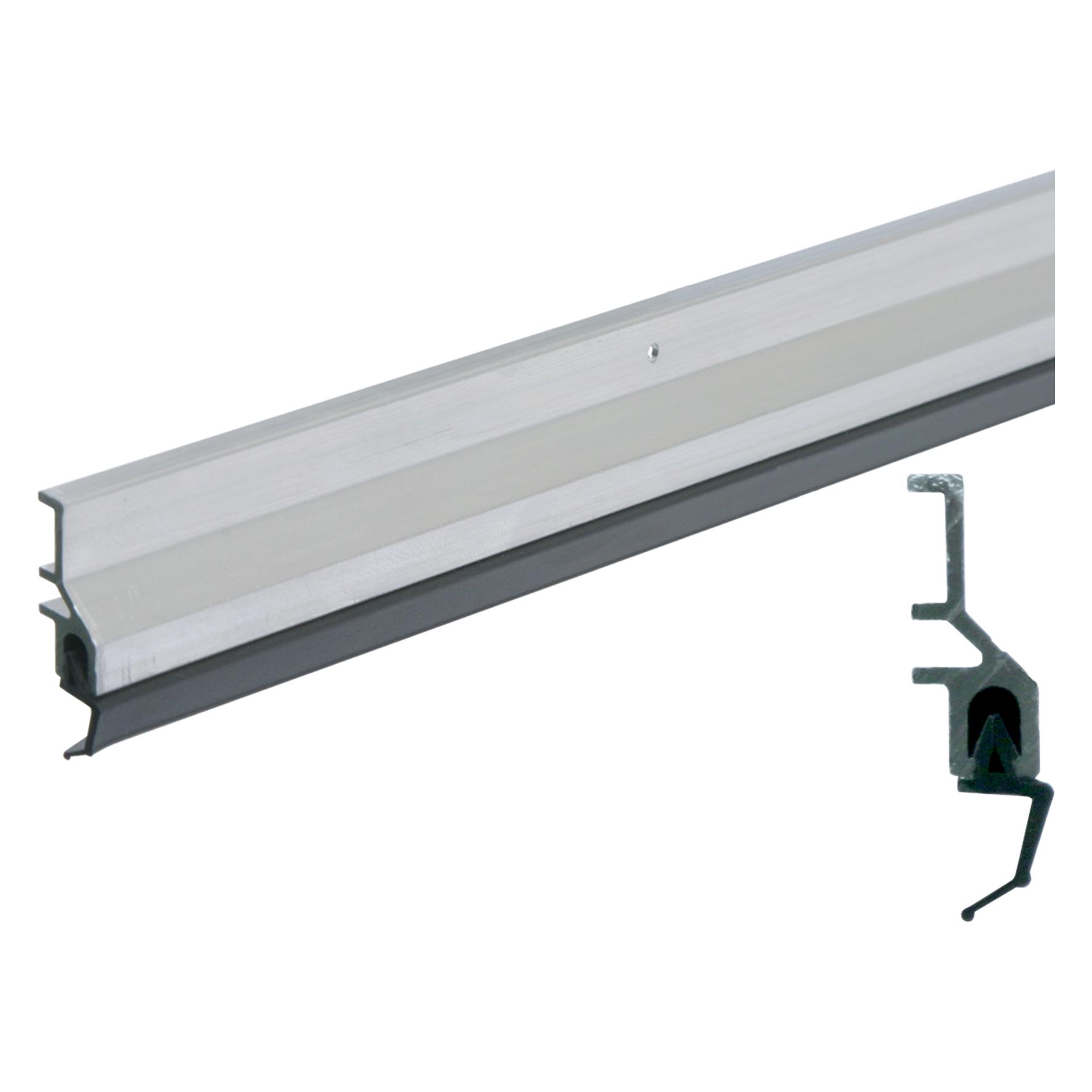 Ellen - Tochtstrip ats - aluminium - 230cm