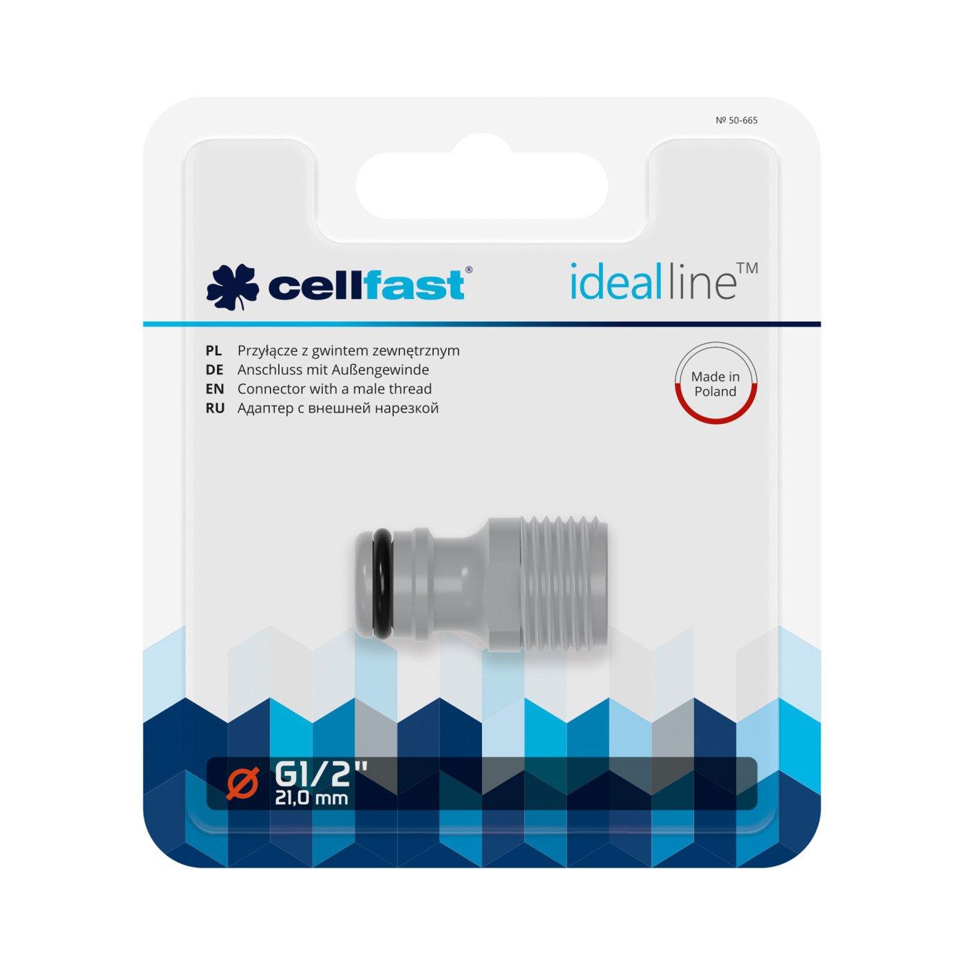 CELLFAST - KOPPELING MET BUITENDRAAD - IDEAL LINE™ PLUS - 1/2