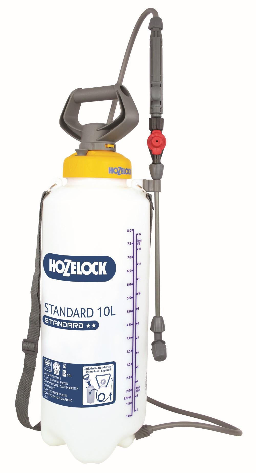 Hozelock Drukspuit Standaard 10 Liter