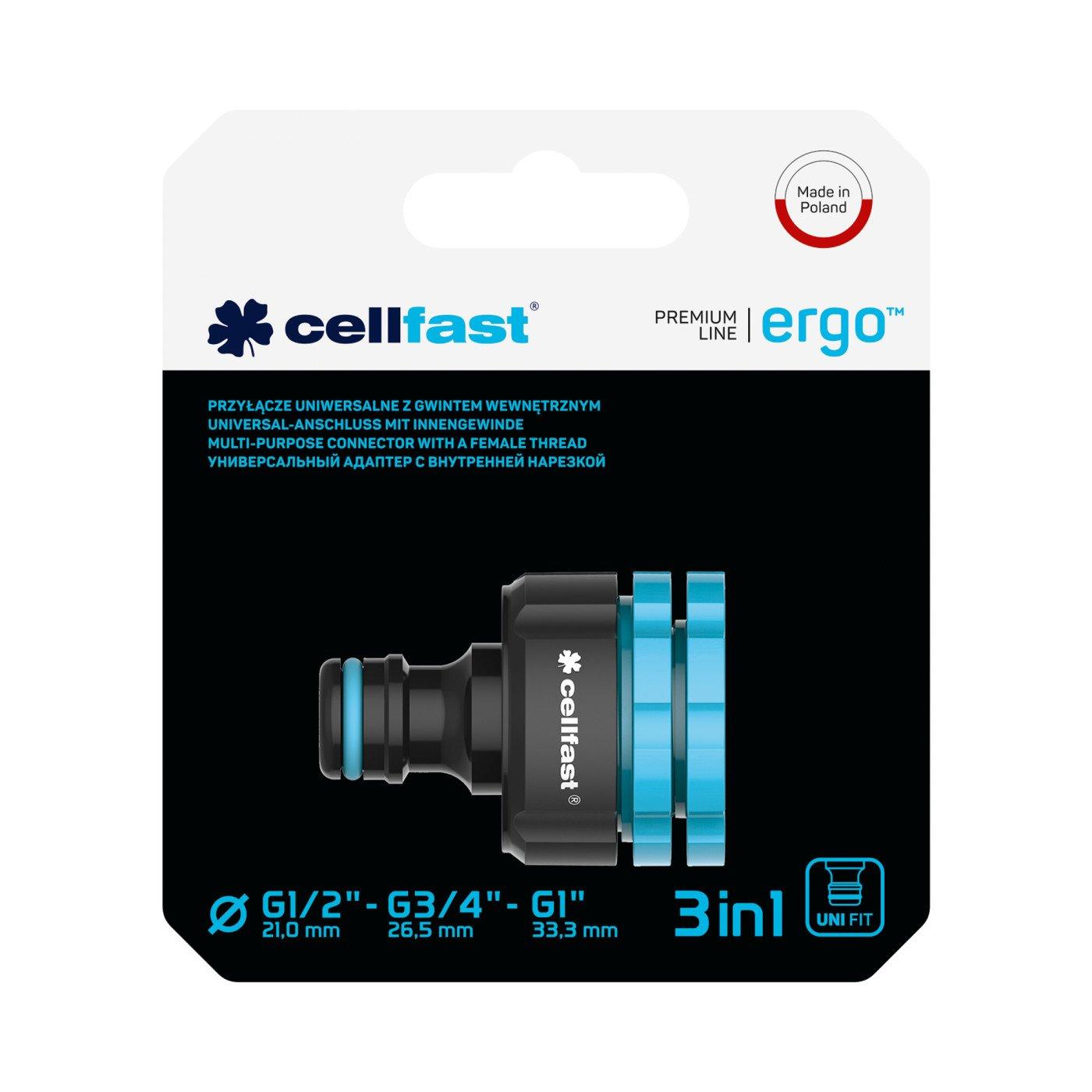 Cellfast Koppselstuk met Binnendraad