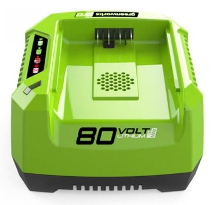 Greenworks 80 V acculader
