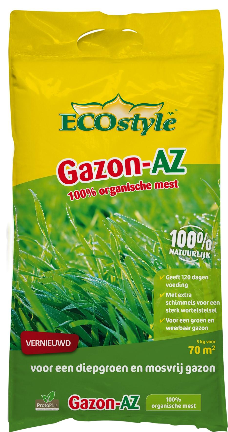 Ecostyle Organische Meststof Gazon-AZ 5 Kg