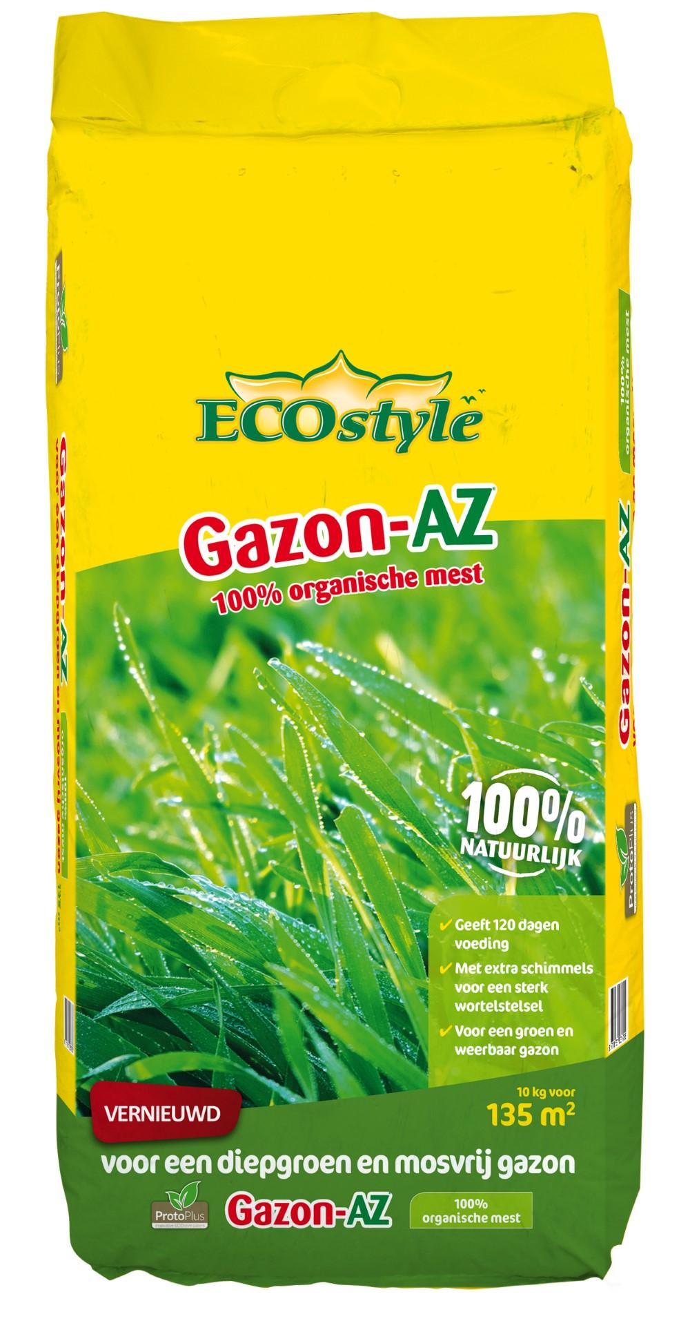 Ecostyle Organische Meststof Gazon-AZ 10 Kg