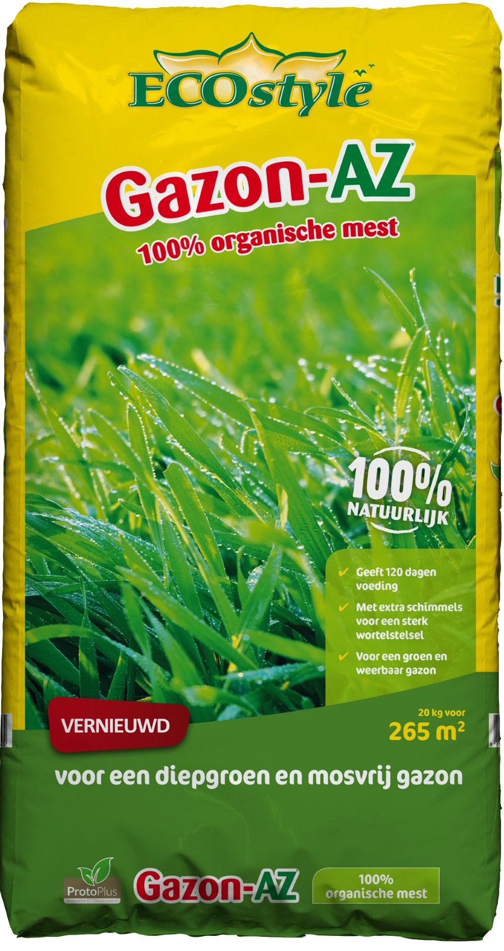 Ecostyle Organische Meststof Gazon-AZ 20 Kg