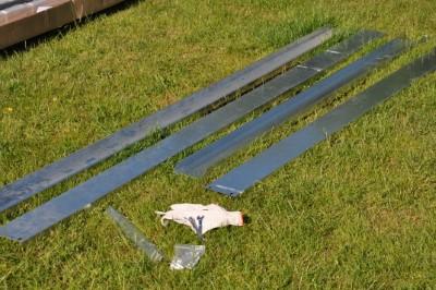 Royal Well Tuinkas en Fundering Popular 106 Blank Polyrcarbonaat 4mm