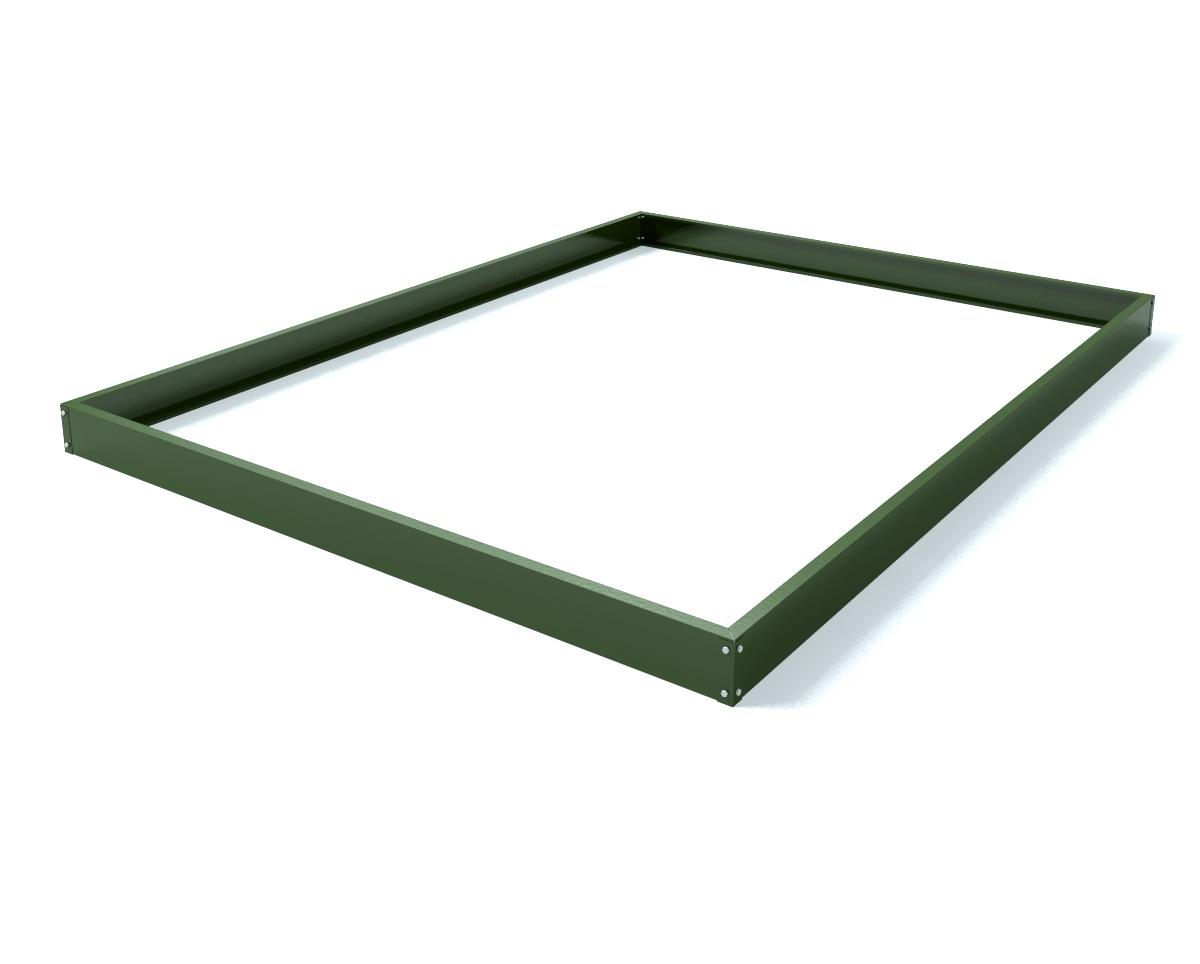 Royal Well Tuinkas en Fundering Popular 66 Groen Gecoat Veiligheidsglas 3mm