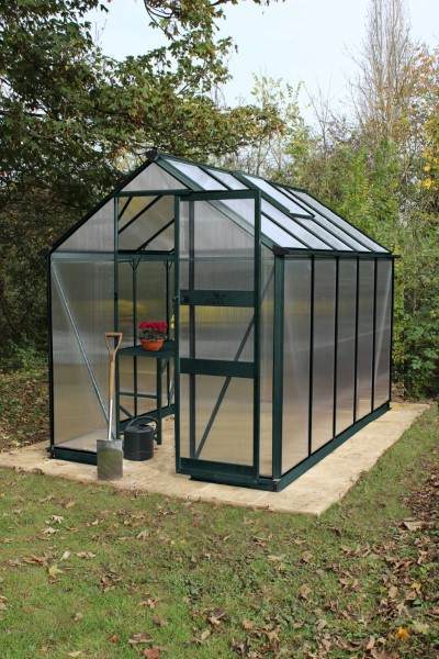 Royal Well Tuinkas Burford 106 Groen Gecoat Polycarbonaat 6mm