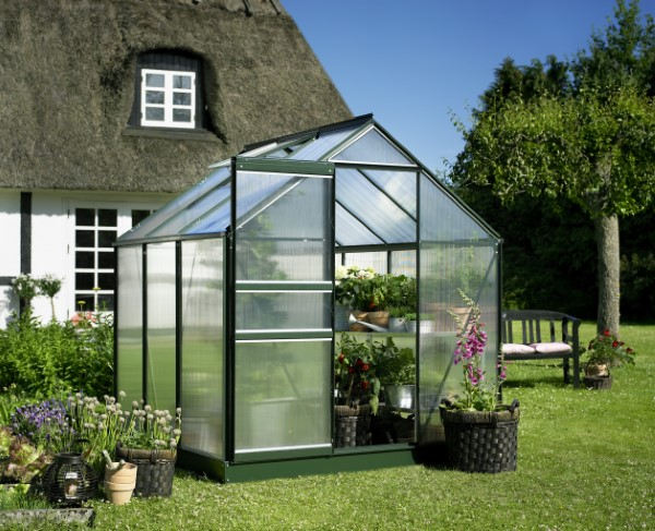 Royal Well Tuinkas Popular 66 Groen Gecoat Polycarbonaat 4mm
