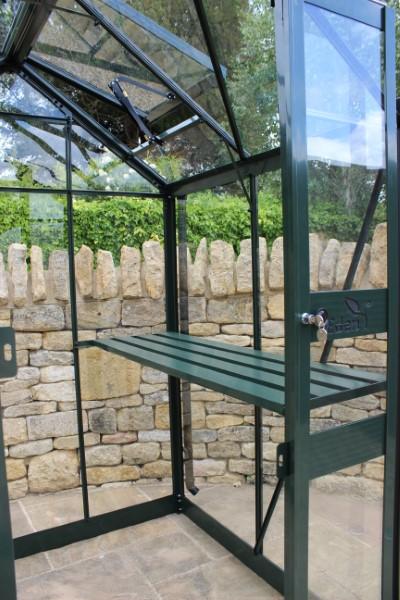 Royal Well Tuinkas Birdlip 64 Groen Gecoat Veiligheidsglas 3 mm