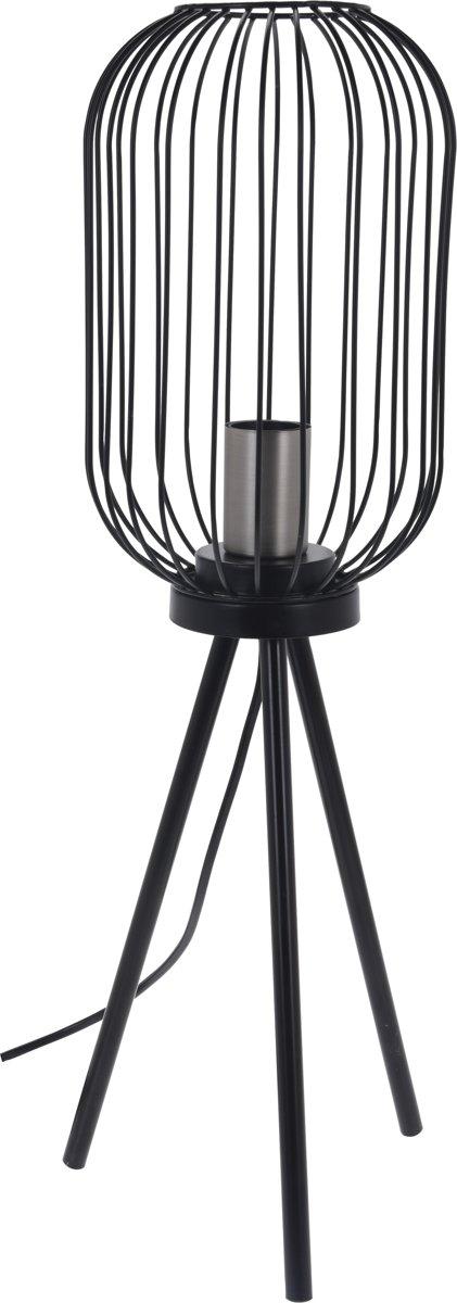 LAMP METAAL ZILVER 175XH600MM