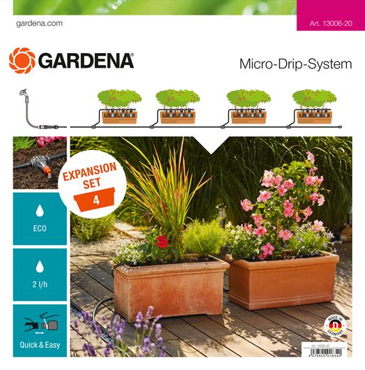 Uitbreidingsset Gardena Micro Drip