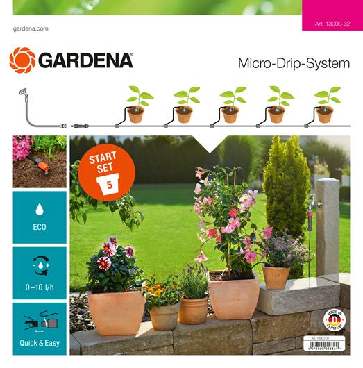 Gardena Micro Drip Start Set S Voor Bloempotten