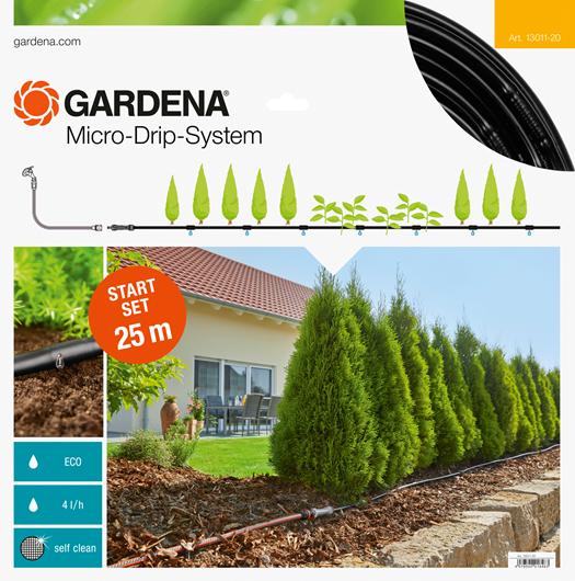 Gardena Micro Drip Start Set M Voor 25 Meter Rijplanten