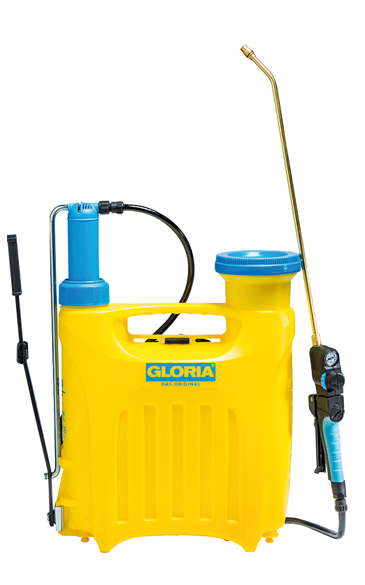 Gloria Pro 1300 - 13 liter kunststof + messing verlengstuk 50 cm.