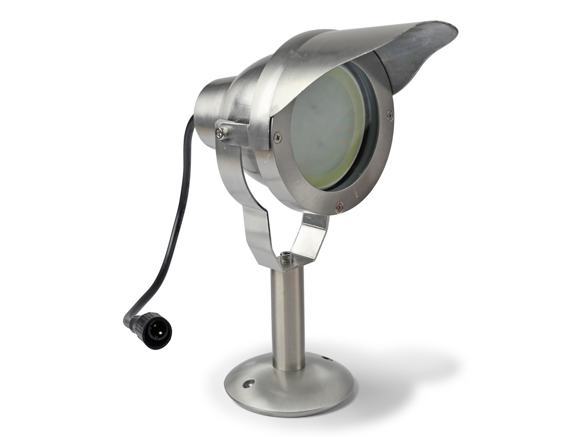 Easy connect LED tuinlamp met spies 3000K