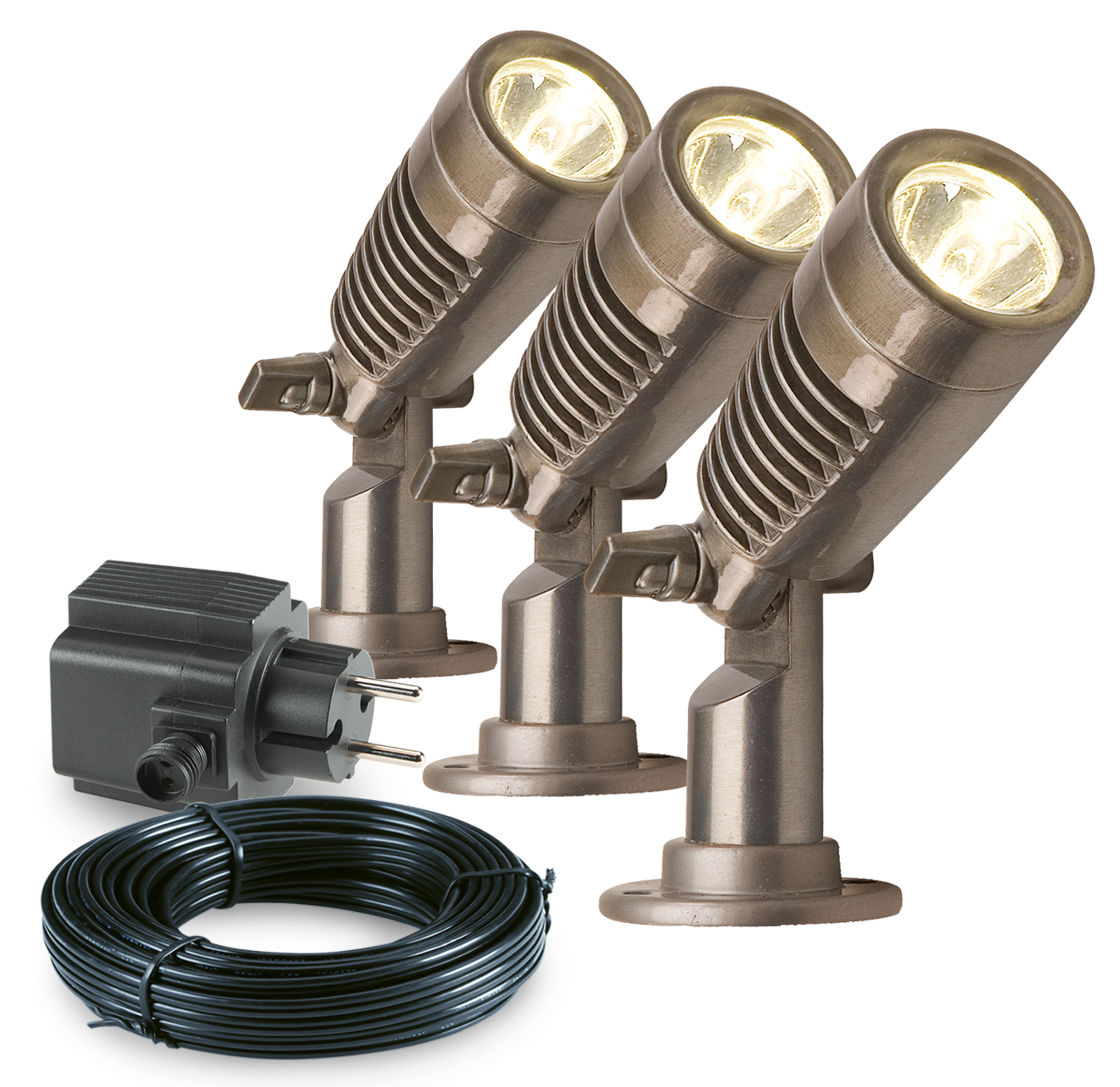 Garden Lights Tuinspot set Minus LED 3 Stuks