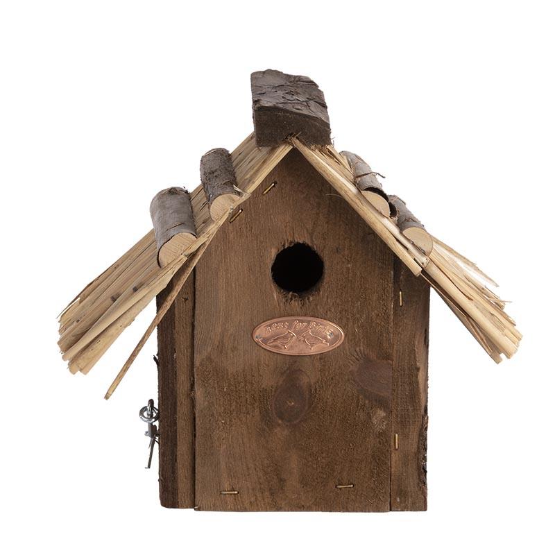 Esschert Vogelhuis Winterkoning Rieten Dak