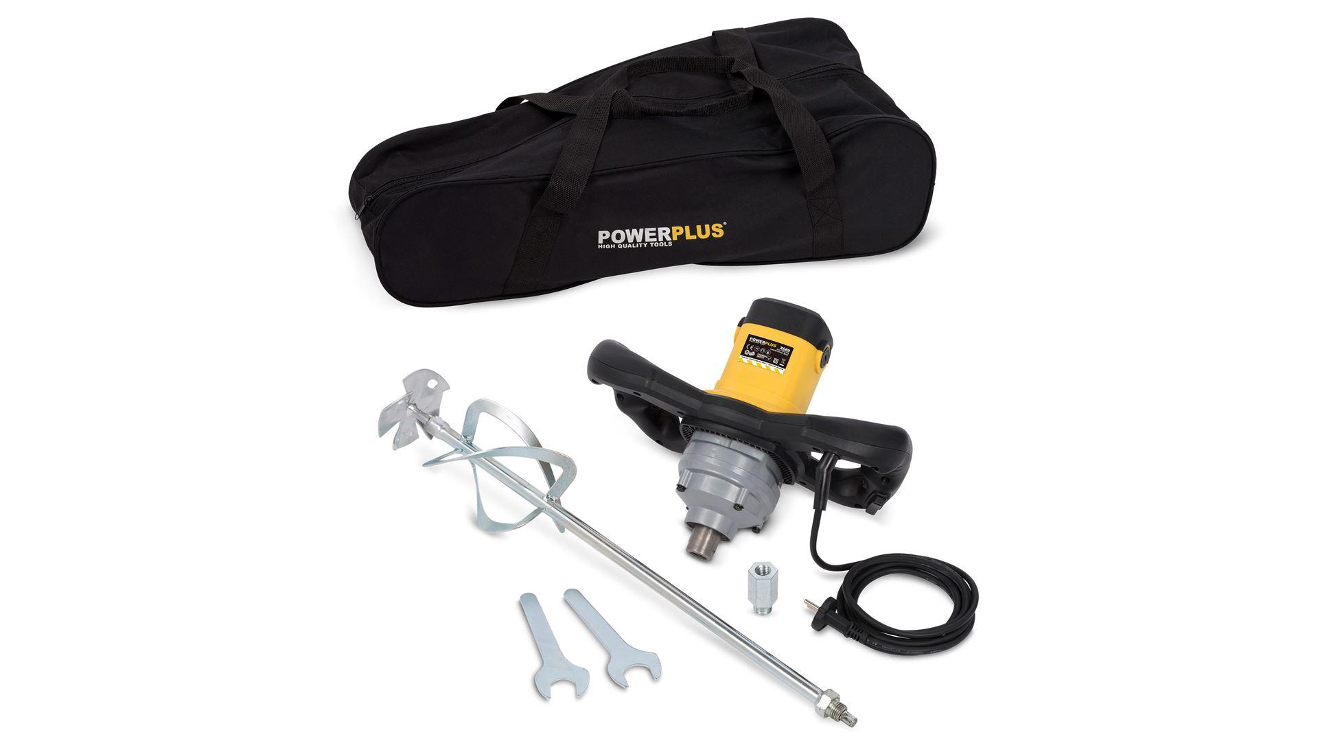 Powerplus POWX089 Betonmixer 1600W | Verfmenger D140mm